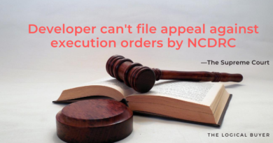 SC Developer can't file appeal against execution orders by NCDRC